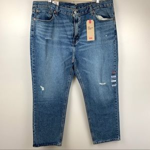 Levi's 541 Athletic Taper Jeans Distressed 40x30